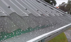 gutter guard protection we installed at our Northern Beaches priject