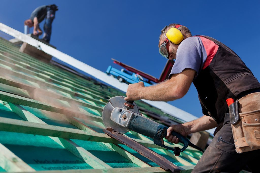 Rob performing roof repair in Sutherland Shire