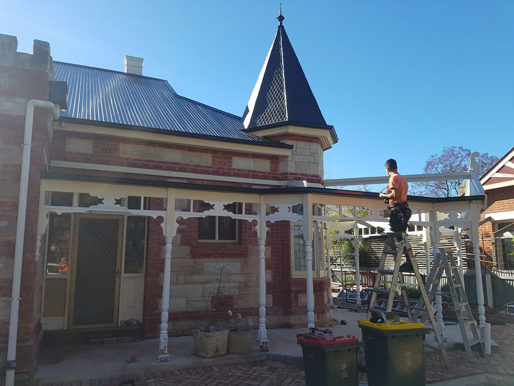 Heritage roofing restoration project at drummoyne__