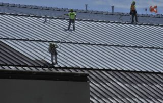 Metal Roofing Project in Sydney CBD
